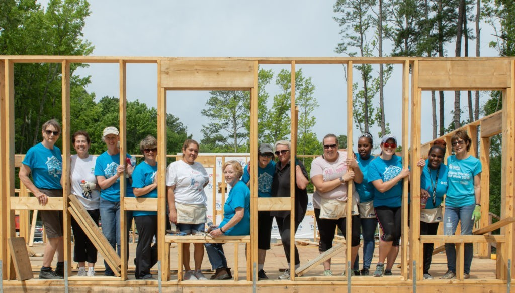 """Habitat for Humanity of the Chesapeake - Donors offer a """"hand up"""""""