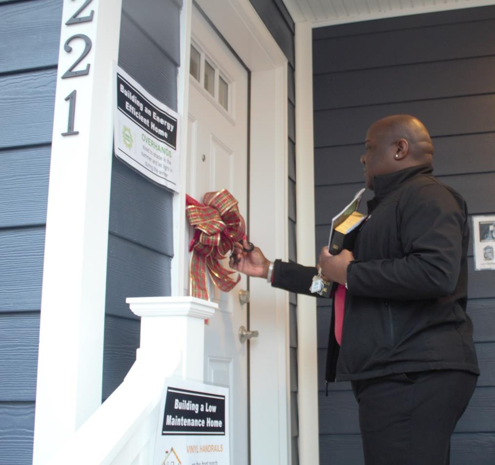 Home for the Holidays: Habitat for Humanity Choptank Dedicates 84th Home